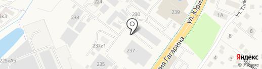 Футура плюс на карте Калининграда