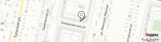 Промышленная изоляция на карте Калининграда