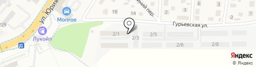К Строй на карте Малого Исаково