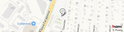 Звездный-3 на карте Калининграда