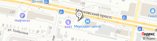 Магазин велосипедов и мототехники на карте Калининграда