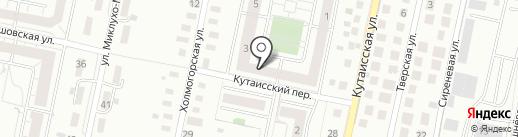 Стоматология доктора Мартынова на карте Калининграда