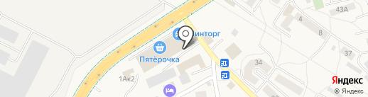Пол-сервис на карте Малого Исаково