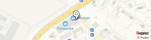 КонтиАвто на карте Малого Исаково