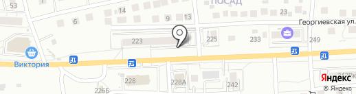Магазин автозапчастей на карте Калининграда