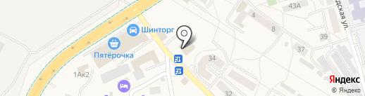 Даурия на карте Малого Исаково