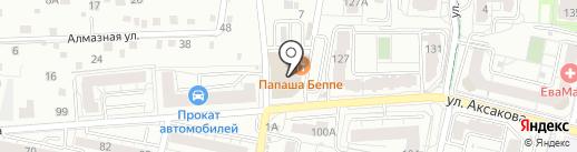 СК Вента на карте Калининграда