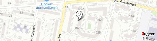 Аркада на карте Калининграда