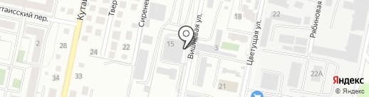 ДИАЛ на карте Калининграда