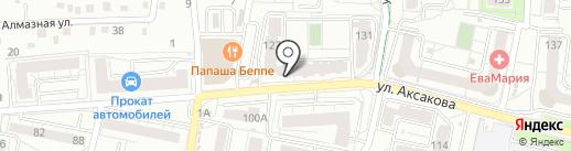 Почтовое отделение №3 на карте Калининграда