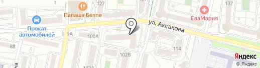 БалтСтройПрогресс на карте Калининграда