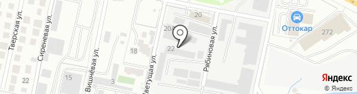 ДСТС-Калининград на карте Калининграда
