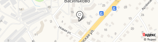 Леди Ева на карте Васильково