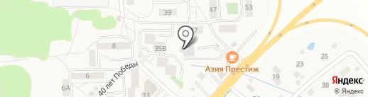 Атлас на карте Васильково