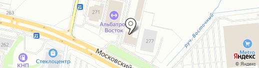 Профессинал на карте Калининграда