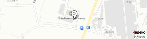 Доюс-Капитал на карте Калининграда