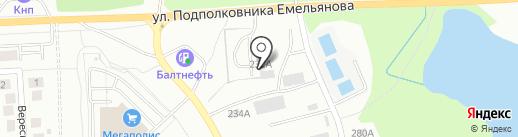 Сибстрой Плюс на карте Калининграда