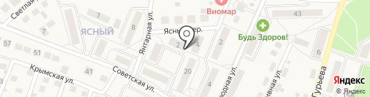 Квартал на карте Гурьевска