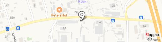 Мастерская по ремонту гидравлических систем на карте Малого Исаково