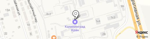 Силач-ТрансБалтик на карте Малого Исаково