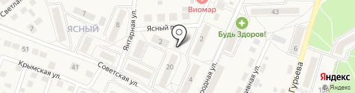 Пульс на карте Гурьевска