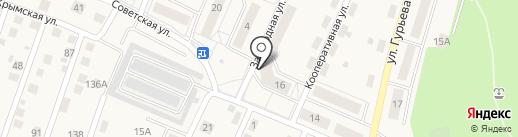 Советский на карте Гурьевска