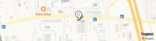 БалтТехСтрой-Запад на карте Малого Исаково