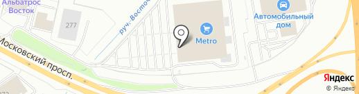 Lattenova на карте Калининграда