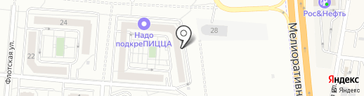 Мегаполис-Жилстрой на карте Калининграда