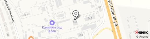 артковка на карте Малого Исаково
