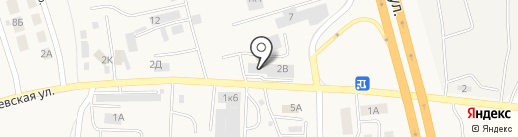 Автоцентр Кардан на карте Малого Исаково