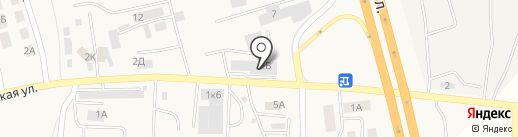 БалтГазАвто на карте Малого Исаково