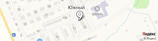 Сбербанк России на карте Южного