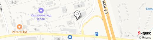 Магазин на карте Малого Исаково