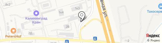 АЗС Постоялый Двор на карте Малого Исаково