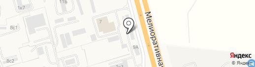 Шансон на карте Малого Исаково