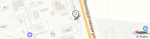 АвтоСтартер на карте Малого Исаково