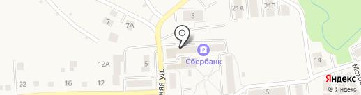 Сбербанк, ПАО на карте Гурьевска