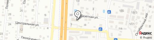 Строй Актив на карте Большого Исаково