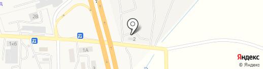 ТиДиСи Дальнобой на карте Малого Исаково