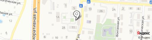 Средняя общеобразовательная школа на карте Большого Исаково