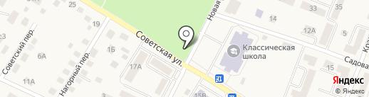 Лана на карте Гурьевска
