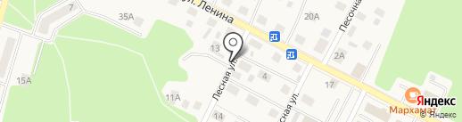 Архитектура на карте Гурьевска