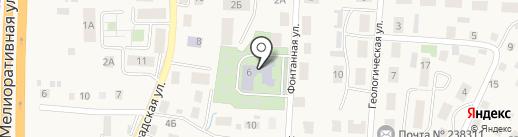 Детский сад №1 на карте Большого Исаково