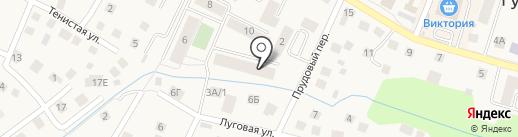 Риэлт-Палас на карте Гурьевска