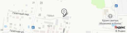 Рустоун на карте Большого Исаково