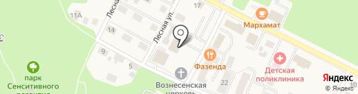 Банкомат, Банк ФК Открытие, ПАО на карте Гурьевска