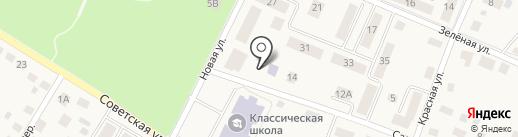 Детский сад №20 на карте Гурьевска