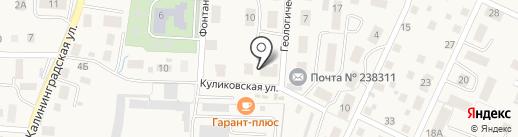 Банкомат, Банк Петрокоммерц на карте Большого Исаково