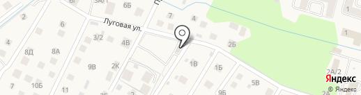 Продуктовый магазин на карте Гурьевска